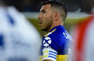 Carlos Tevez, capitán de Boca Juniors