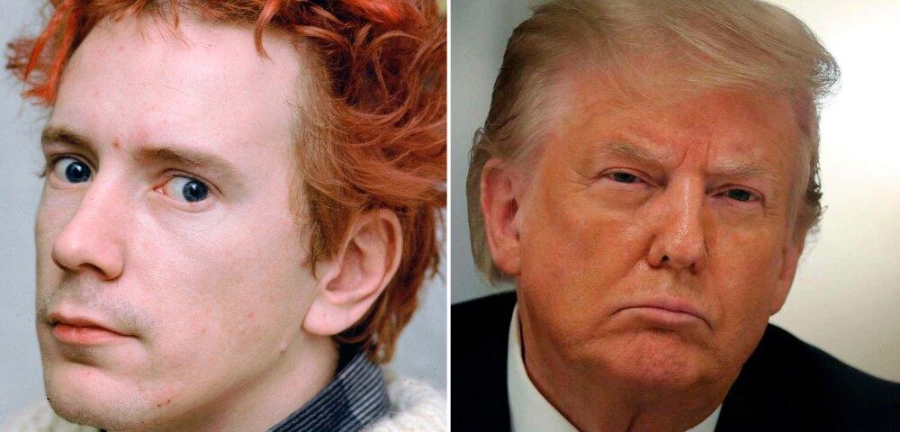 648708_Foto Johnny Rotten: Kypros. Foto Donald Trump: Chip Somodevilla // Getty Images.