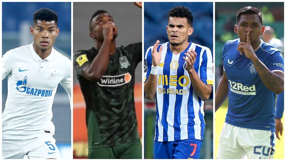 Jugadores colombianos destacados en el viejo continente