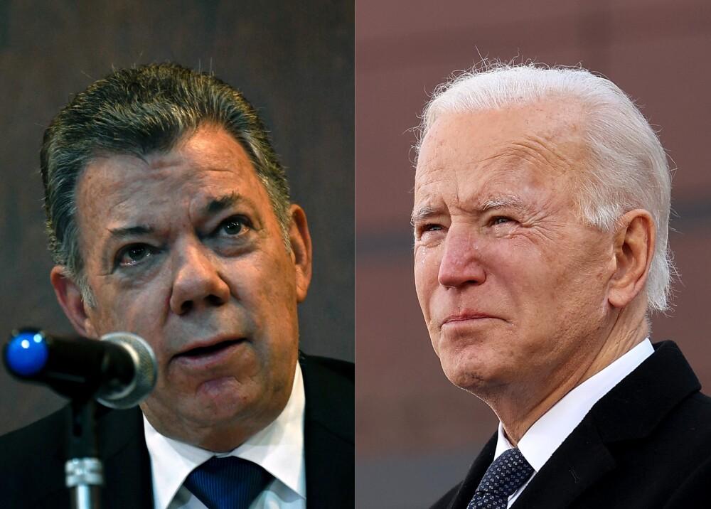 Juan Manuel Santos Joe Biden fotos AFP.jpg