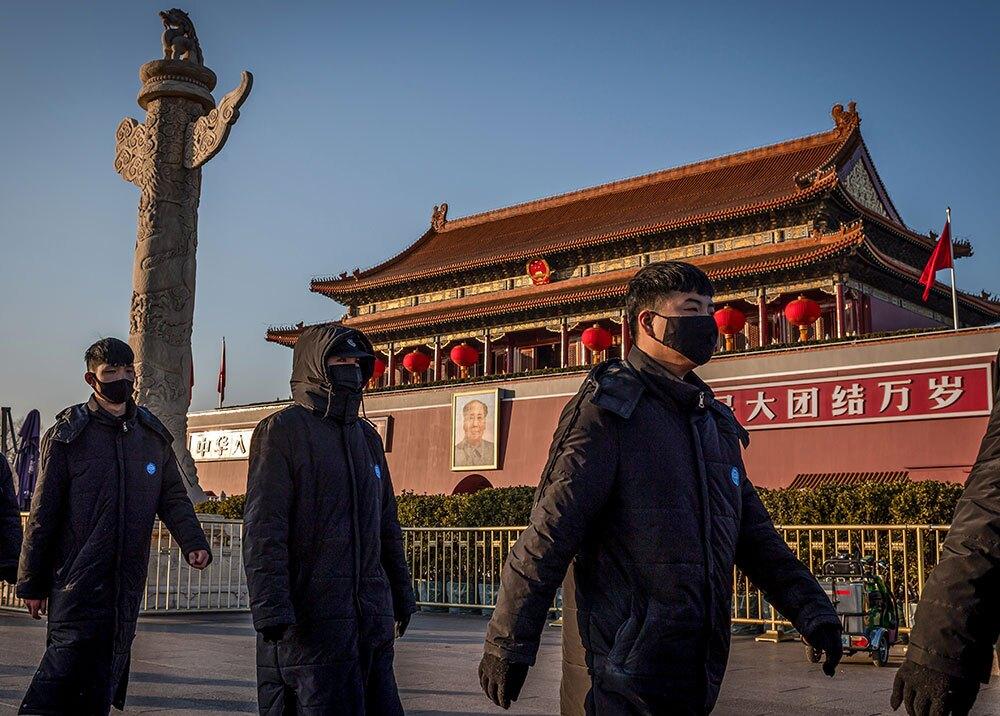 358939_Puerta de Tiananmen, China // Foto: AFP