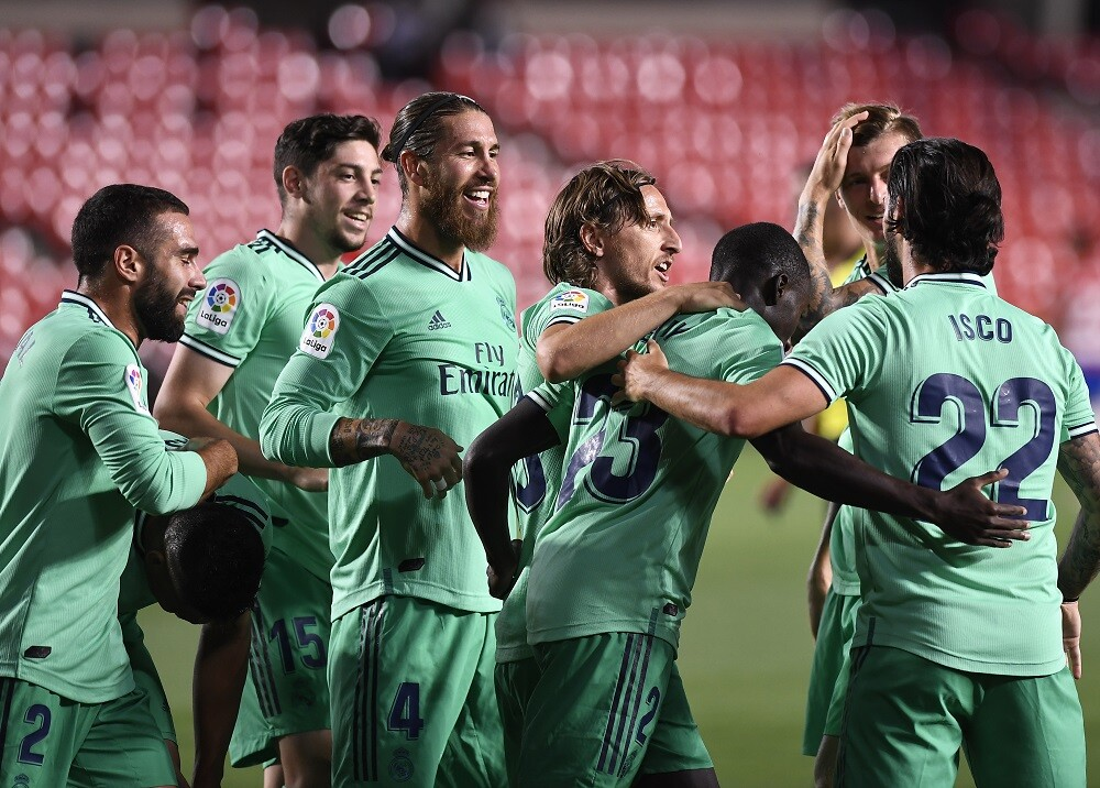 370957_Real Madrid. Foto: AFP