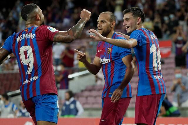 Barcelona contra Real Sociedad, La Liga 2021/22
