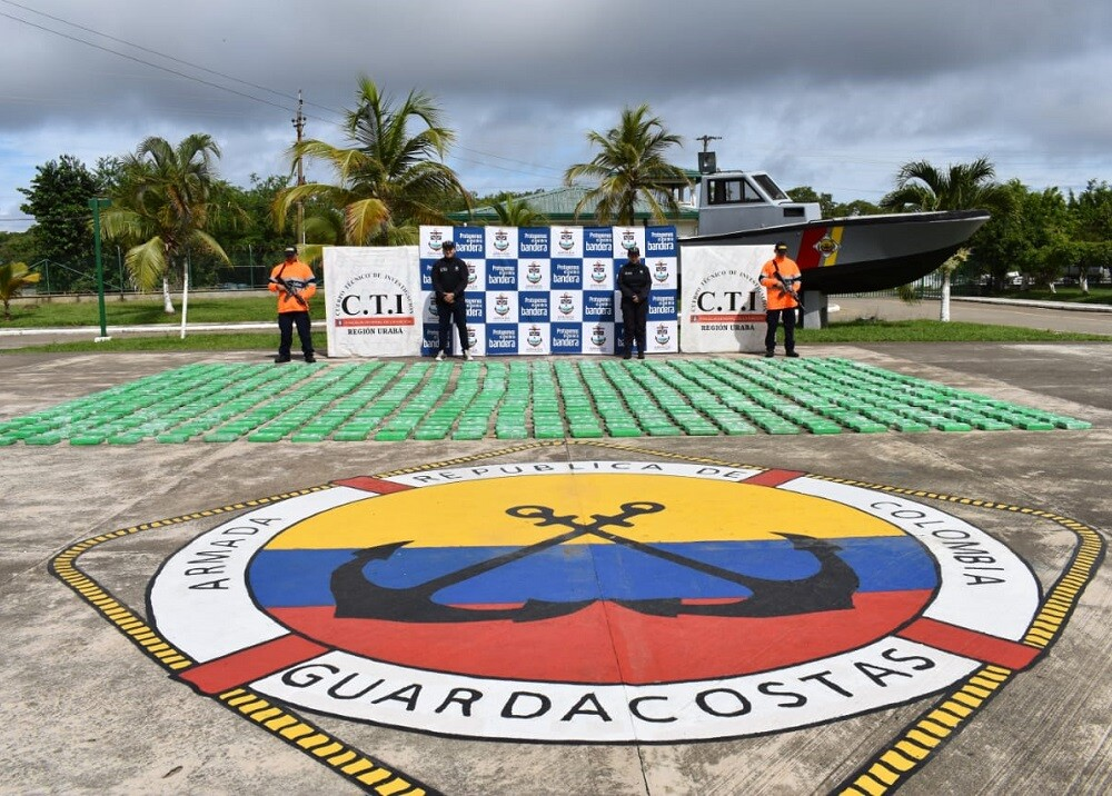 335469_BLU Radio. Cocaína incautada // Foto: Armada Nacional