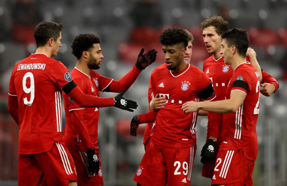 Bayern Múnich celebra