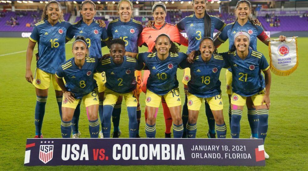 Selección Colombia Femenina. Foto: Federación Colombiana de Fútbol