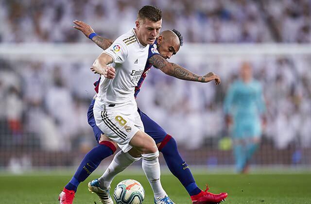335241_Acción de juego de la Liga de España