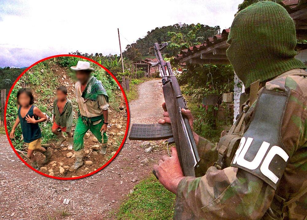 376074_Despojo de tierras de desplazados a manos de paramilitares // Fotos: AFP