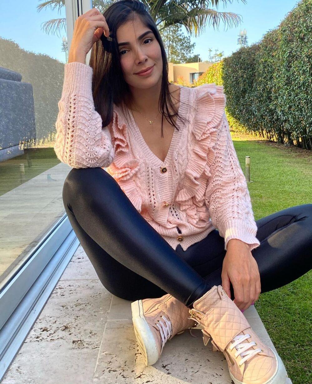 Andreína Fiallo confiesa cuál es el sexo de su bebé.