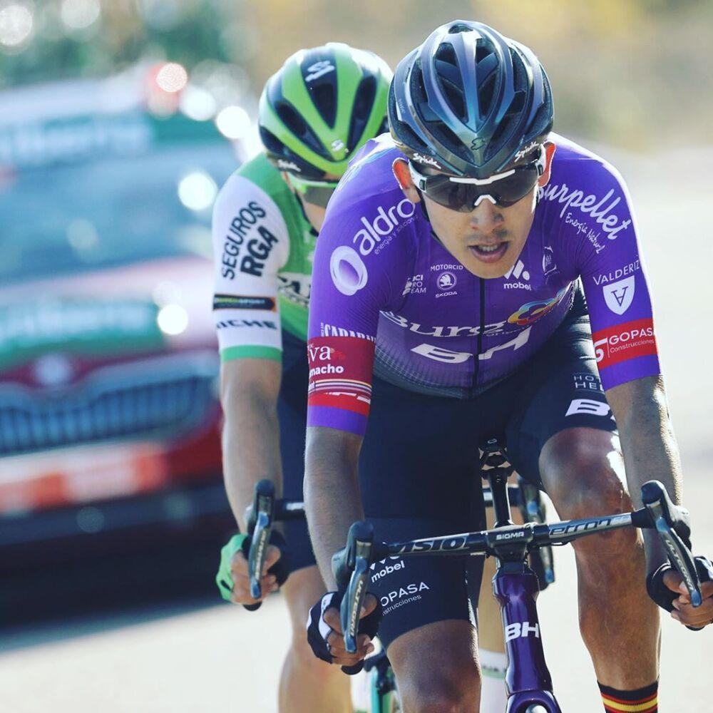 Juan Felipe Osorio -  etapa 9 de la Vuelta a España