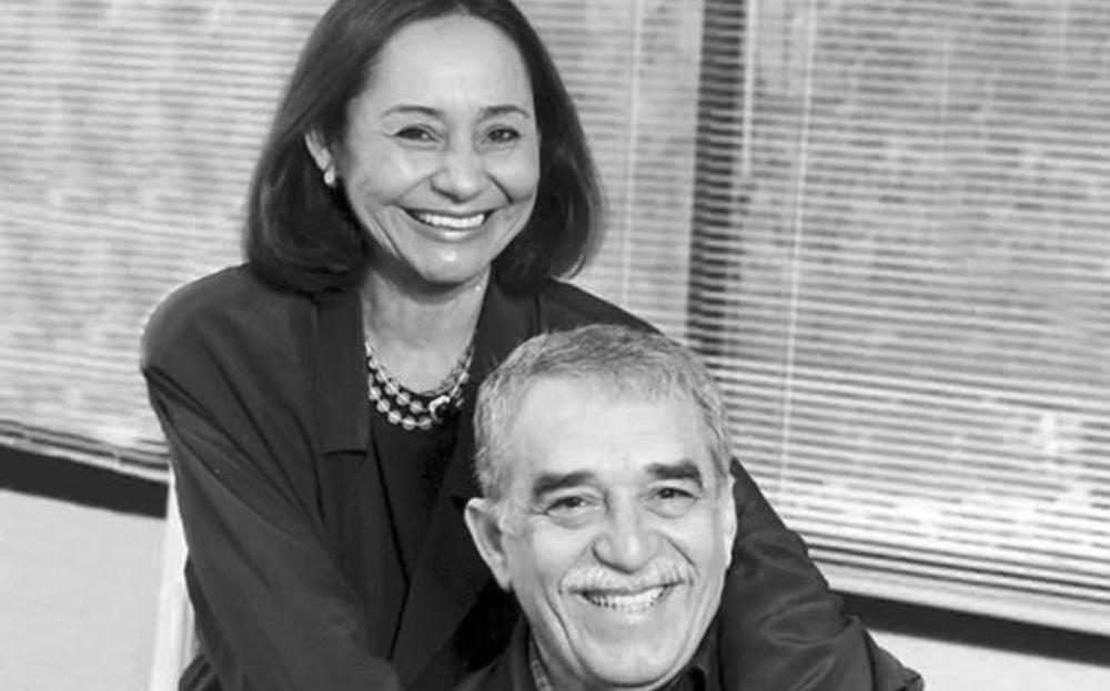 Mercedes Barcha y Gabo