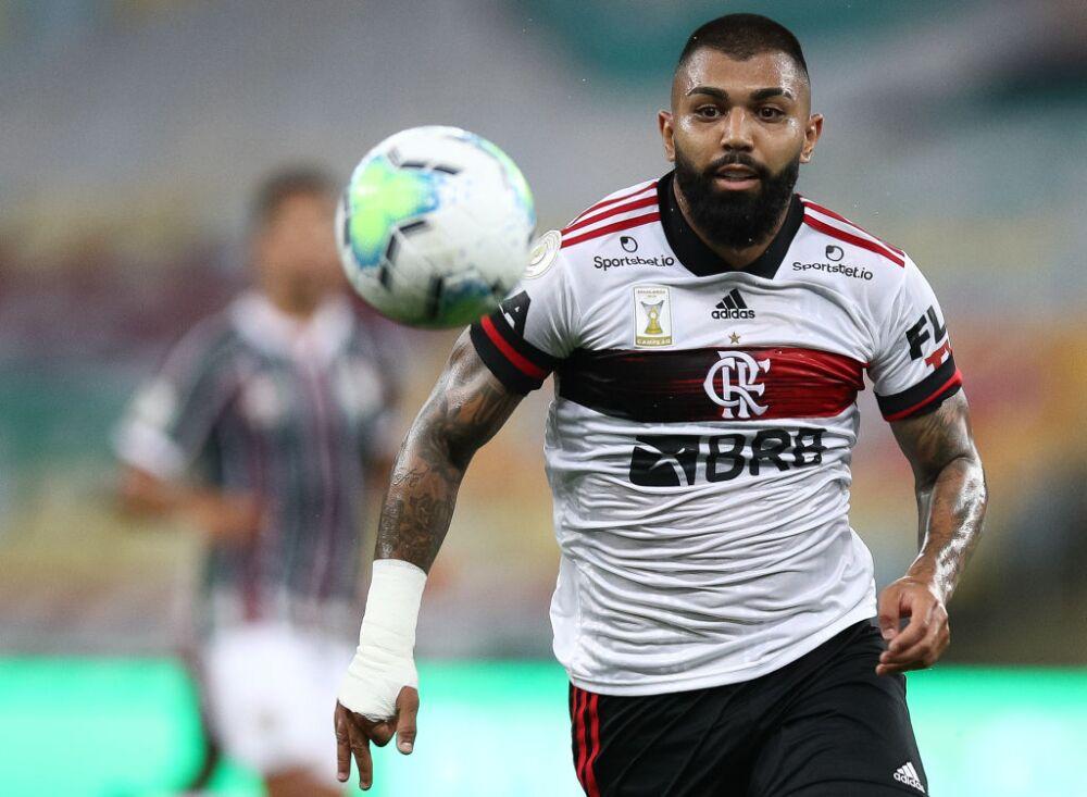 Gabigol, jugador de Flamengo