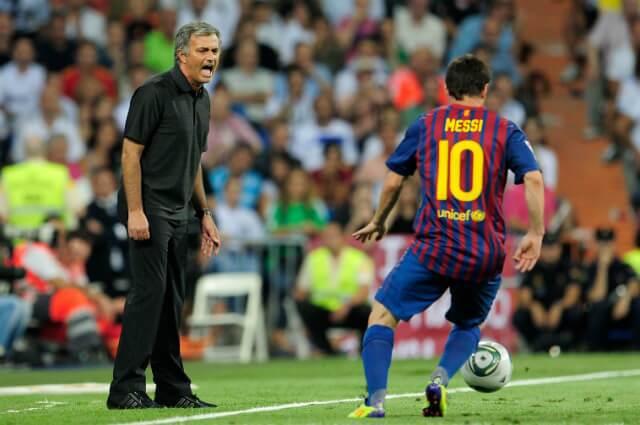 320860_José Mourinho y Lionel Messi