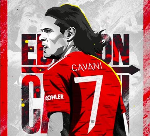 Edinson Cavani Manchester United