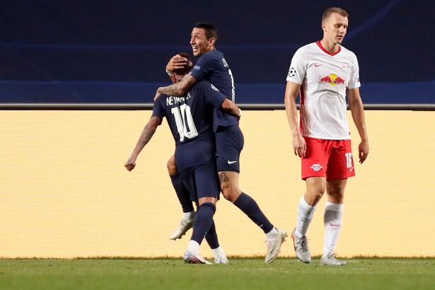 Vea el gol de Ángel Di María 0-2 hoy RB Leipzig vs. PSG, en la ...