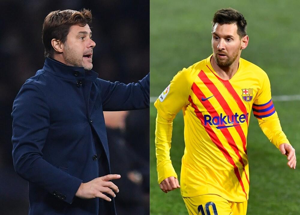 Pochettino y Messi Fotos AFP.jpg
