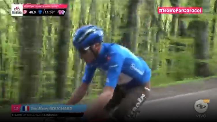 Tercer premio de la montaña en la etapa 12 del Giro de Italia.