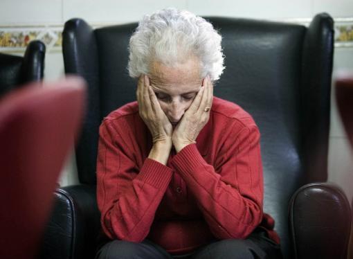 12967_Paciente con Alzheimer // Foto: AFP, imagen de referencia