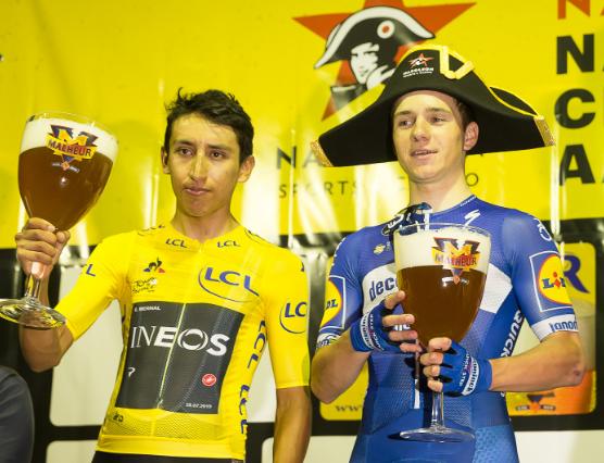 Egan Bernal y Remco Evenepoel se verán las caras en el Giro de Italia 2021.