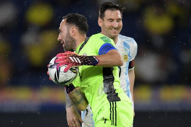 David Ospina contra Lionel Messi, en Copa América