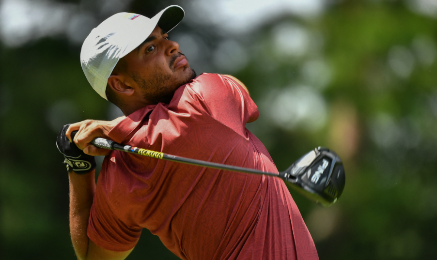 Juan Sebastián Muñoz es quinto en el golf de los Juegos Olímpicos tras la tercera ronda.