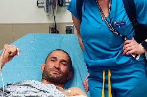Khetag Pliev perdió un dedo en un combate de MMA.