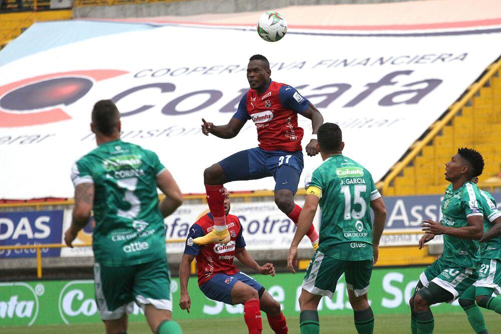 Partido entre La Equidad y Medellín, por la Liga. Dimayor.jpeg