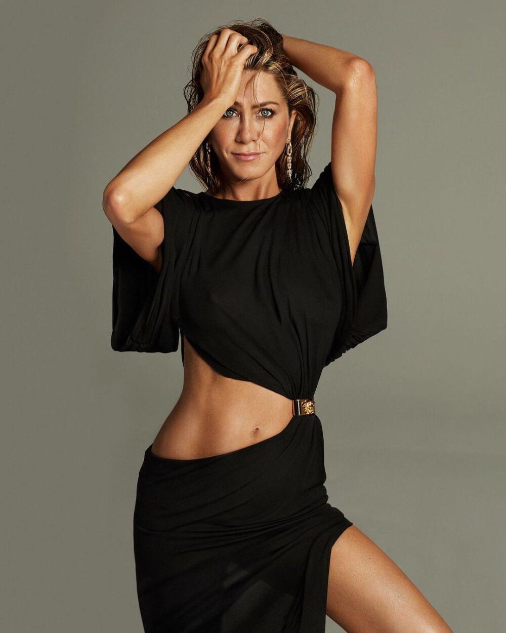 Jennifer Aniston, actriz estadounidense de cine y televisión.