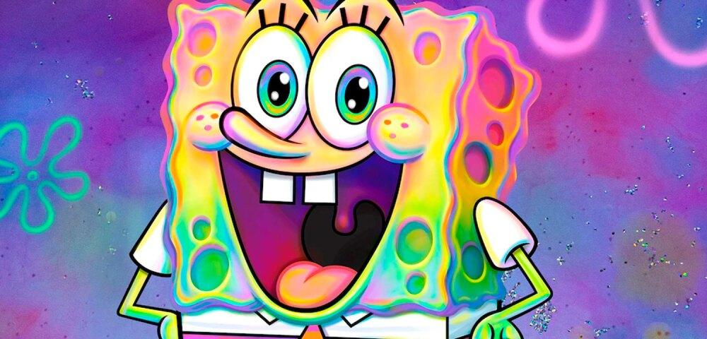 Bob Esponja, ganador del premio a Caricatura favorita en los Kids Choice Awards México 2021.