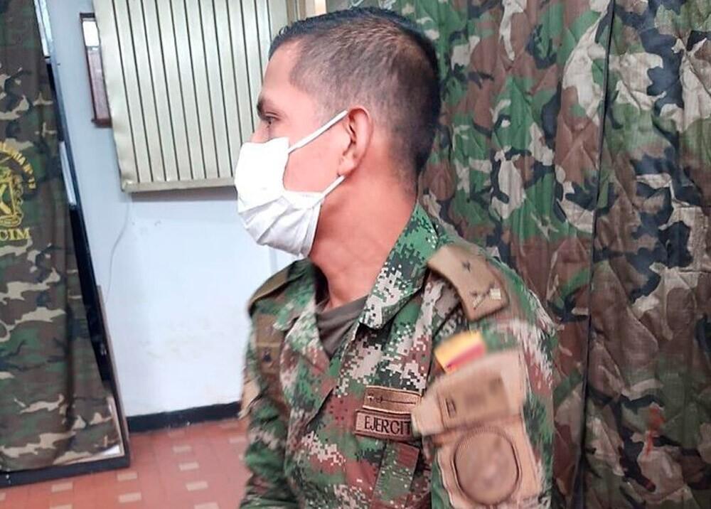 372587_Falso militar capturado en Bogotá // Foto: suministrada