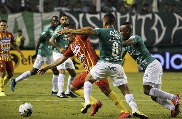 339344_Acción de juego de la Liga Colombiana