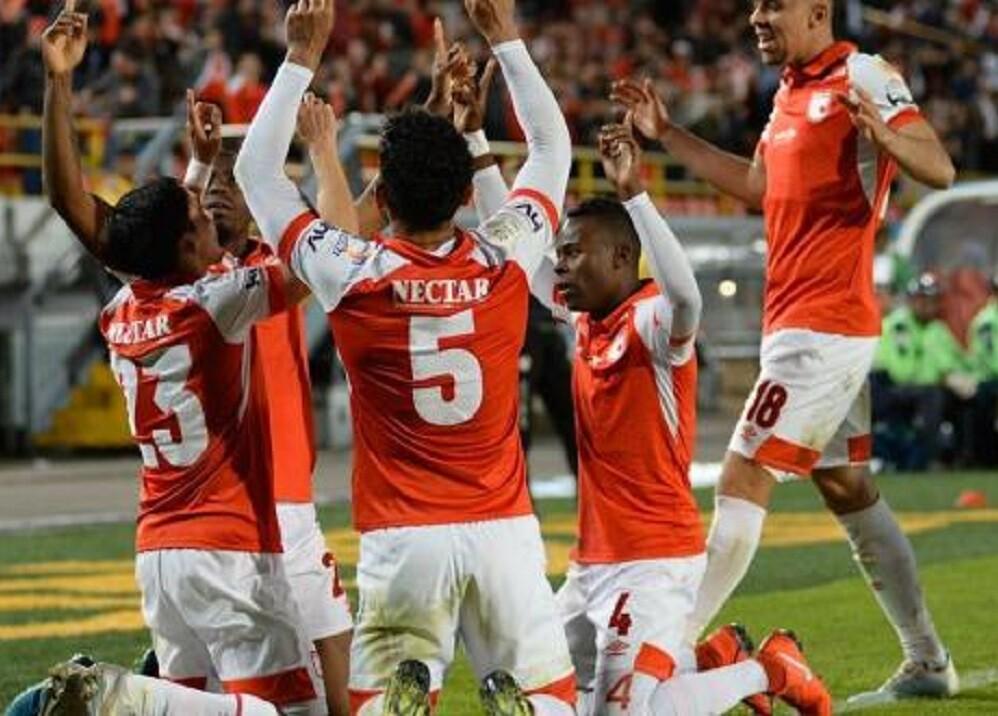 345028_Sexta victoria consecutiva de Santa Fe // Foto: Twitter @santafe
