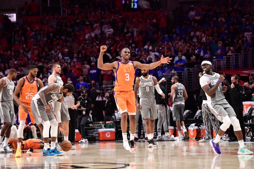 Los Suns están a una victoria de la final de la NBA.