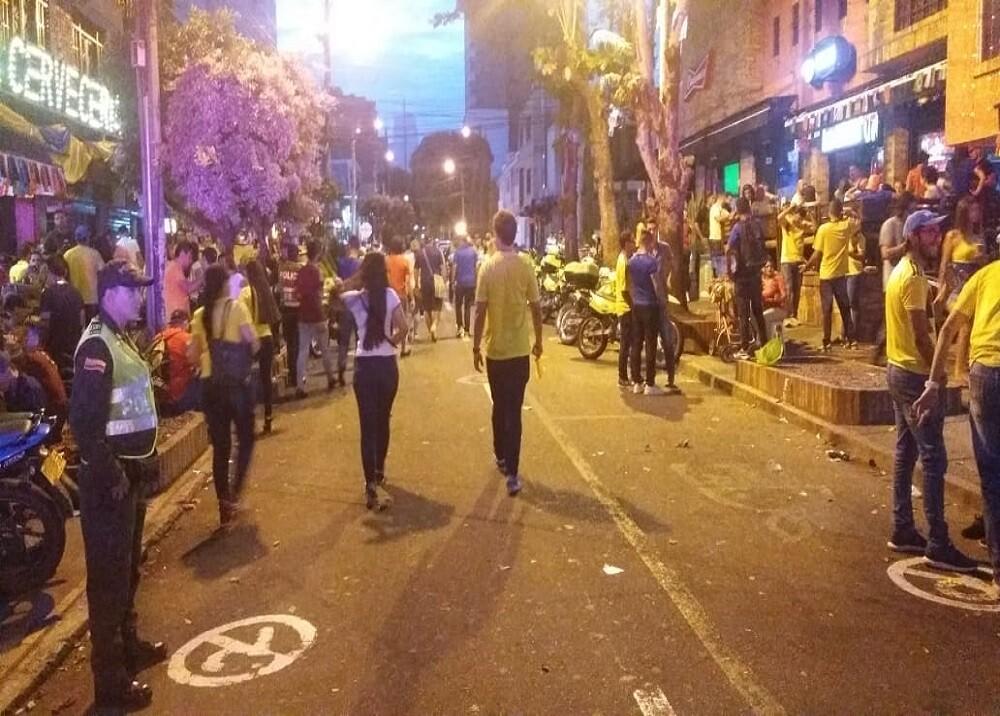 309785_BLU Radio. 'Cuadra play'/ foto: Policía en Bucaramanga.