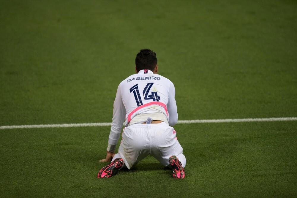 Casemiro Real Madrid. Foto: AFP