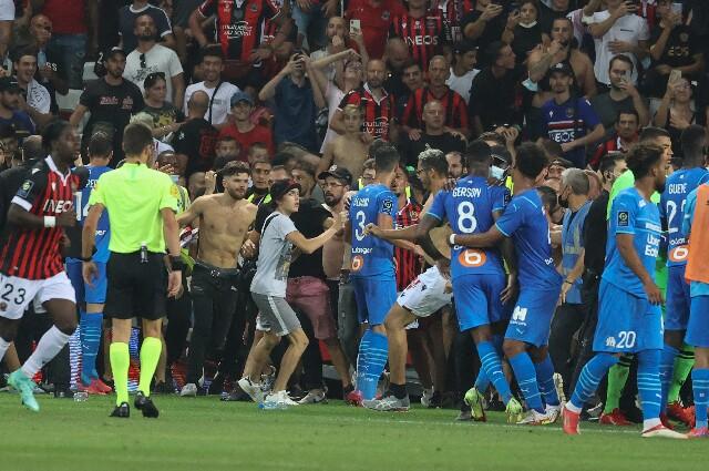 Niza contra Olympique de Marsella, en la Ligue 1