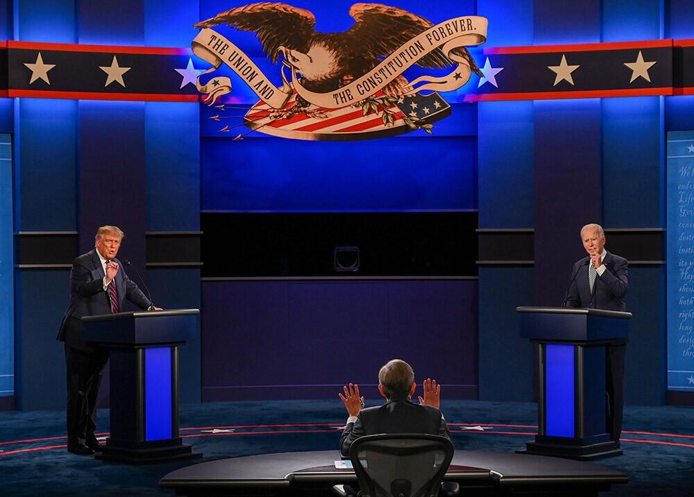 Primer debate entre Trump y Biden en Cleveland