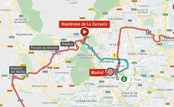 Así será la etapa 18 de la Vuelta a España 2020.