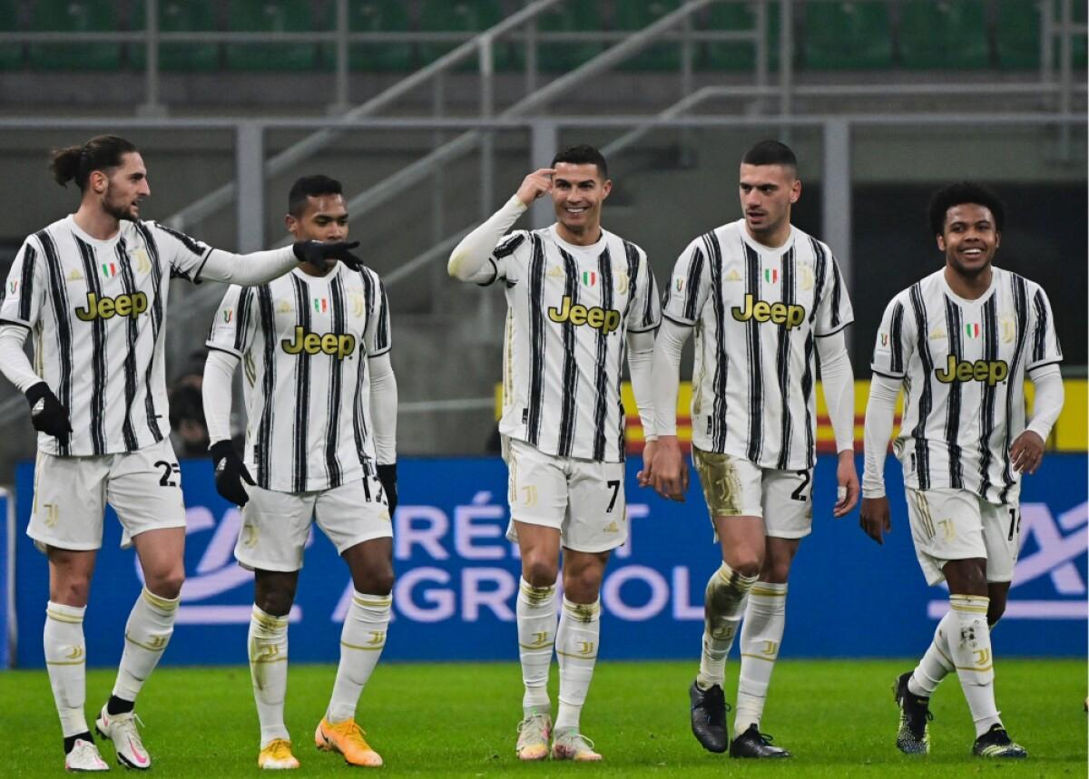 Doblete de Cristiano: Juventus remontó ante Inter en la semifinal de la  Copa Italia