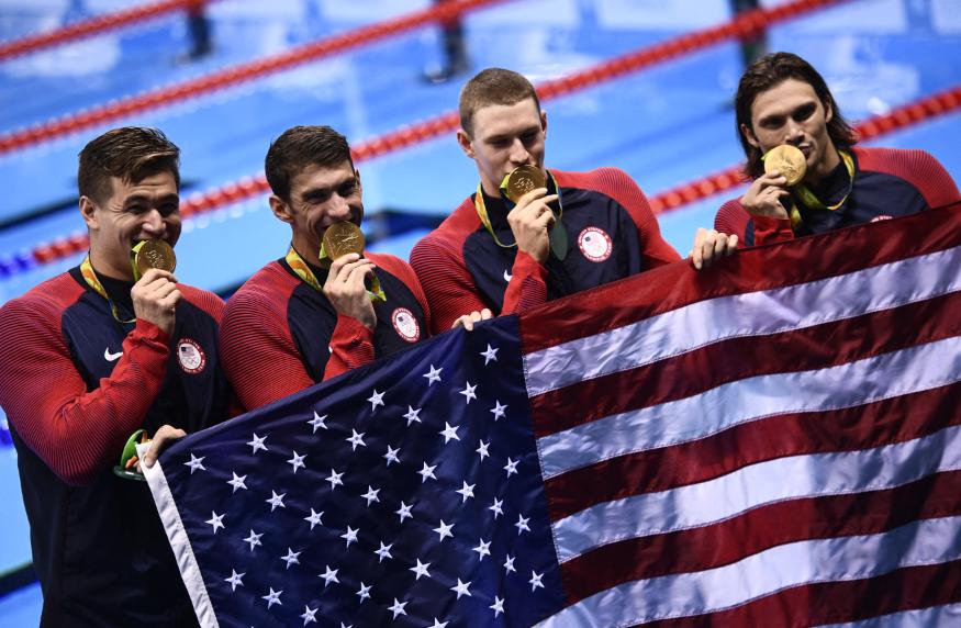 Estados Unidos fue el país con más medallas en los Juegos Olímpicos de Río de Janeiro.