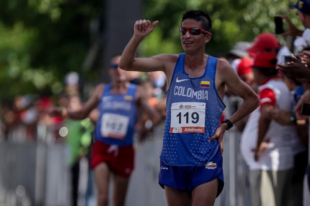 Jeisson Suárez clasificó a los Juegos Olímpicos de Tokio.
