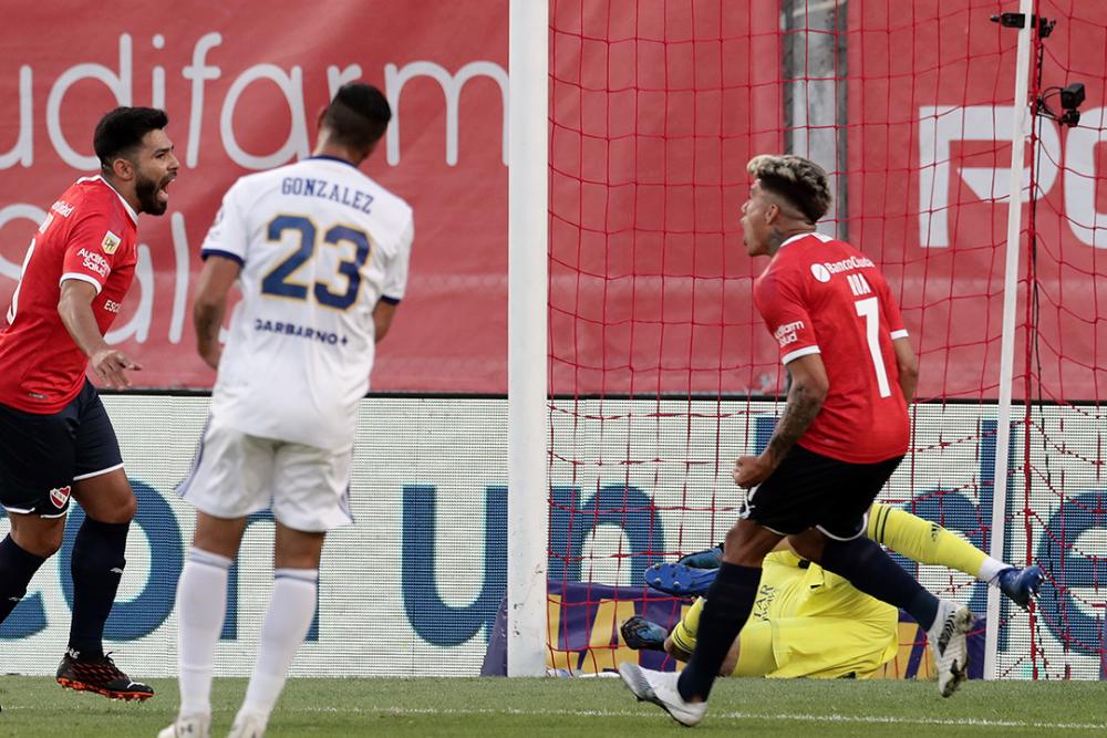 Andrés Roa, jugador de Independiente de Avellaneda. AFP.png