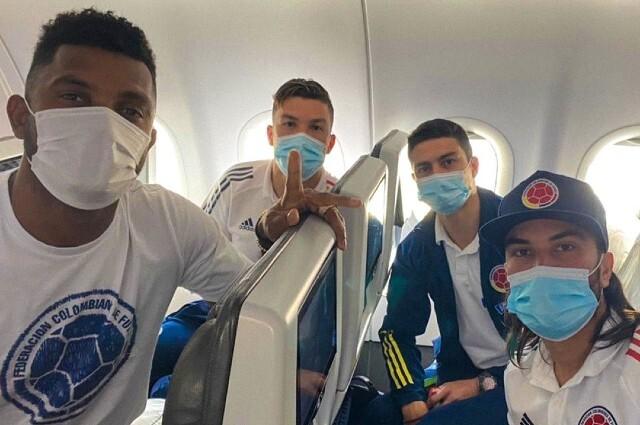 Selección Colombia rumbo a la Copa América