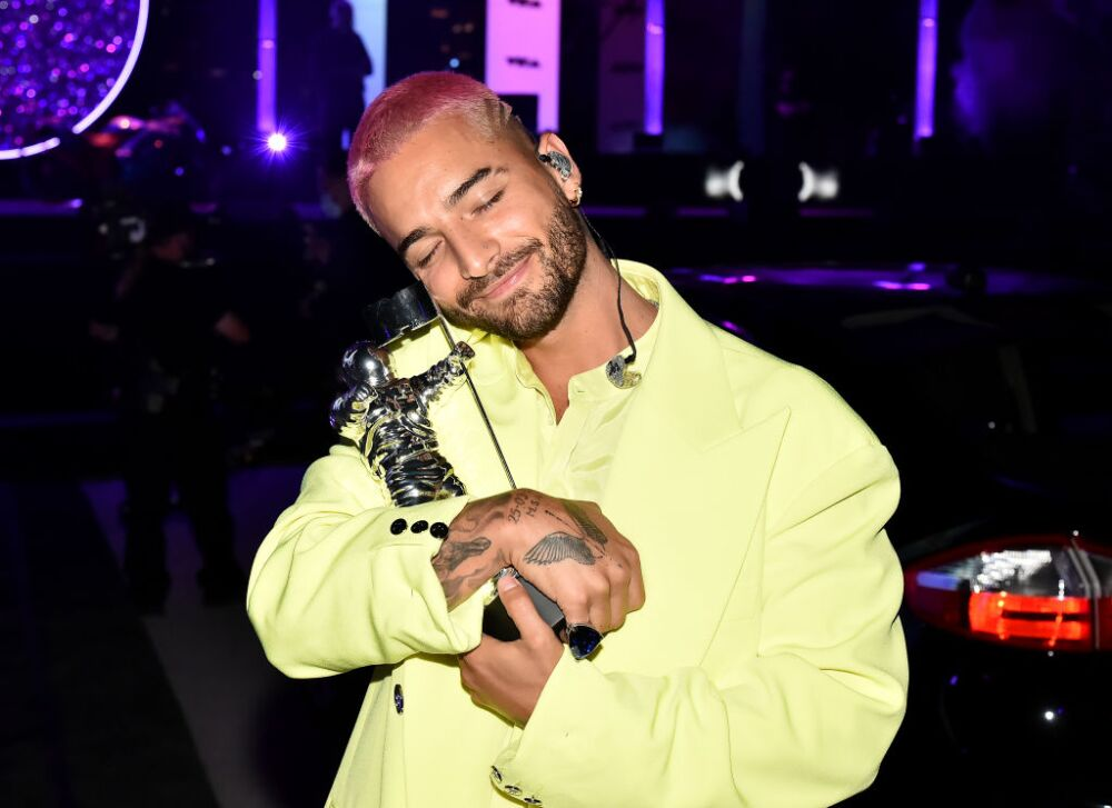 2020 MTV Video Music Awards – Winners Room