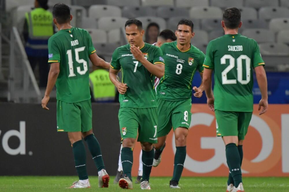 Selección Bolivia en la Copa América