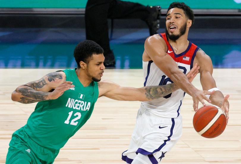 Nigeria le ganó 87-90 a Estados Unidos en amistoso de preparación para los juegos Olímpicos.