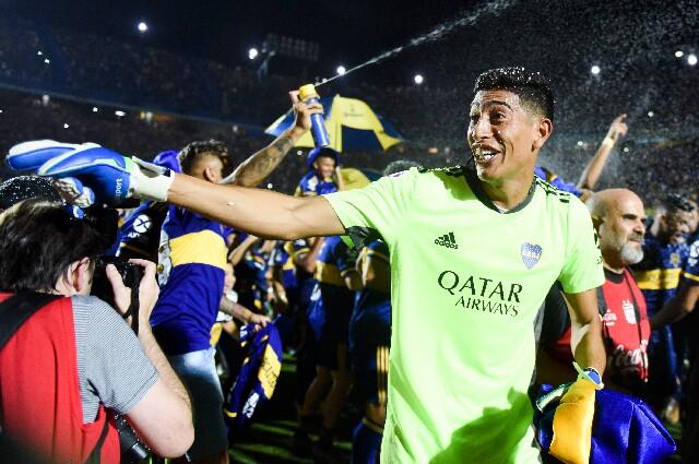 Esteban Andrada, en Boca Juniors