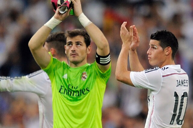 Iker Casillas James Rodríguez