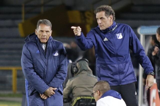 Miguel Ángel Russo y Guillermo Cinquetti
