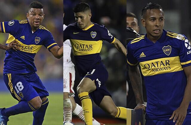 337797_Frank Fabra, Jorman Campuzano y Sebastián Villa